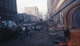 Station construction (Dec 12, 1989)