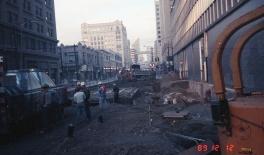 Station construction (Dec 12, 1989)
