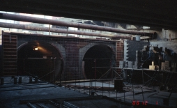 Pioneer Square Station construction (Dec 1, 1988)