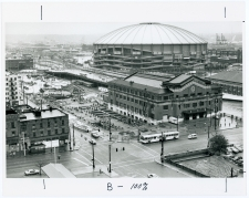 International District Station, Union Station, and the Kingdome