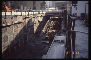 Tunnel station construction (Sep 23, 1987) - Vic Oblas