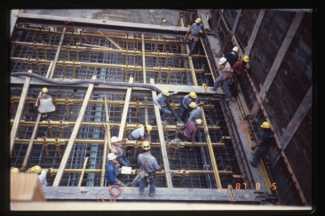 Tunnel station construction (Aug 5, 1987) - Vic Oblas